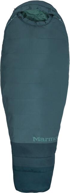 Marmot W's Trestles 15 TL Sleeping Bag Regular Dark Agave/Sea Moss